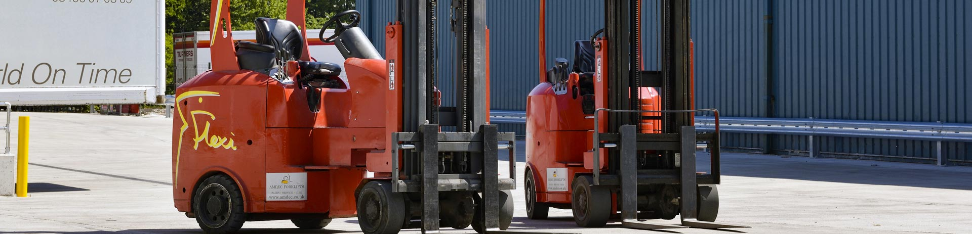 Flexi and Bendi Forklift Truck Specialists Manchester