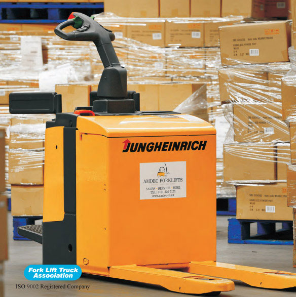 Jungheinrich ERE 20 Ride-on Pedestrian Forklift Trucks