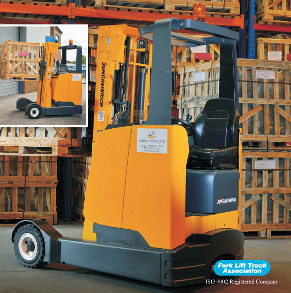Jungheinrich ETVC 16 Electric Forklift Truck